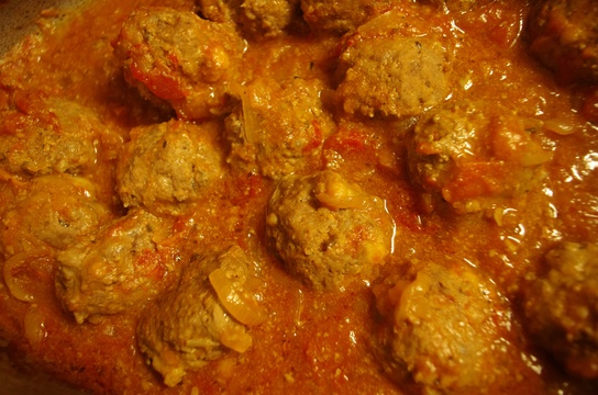 Curry Meatballs a la Fynbos