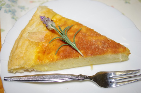 Home baked Milk Tart