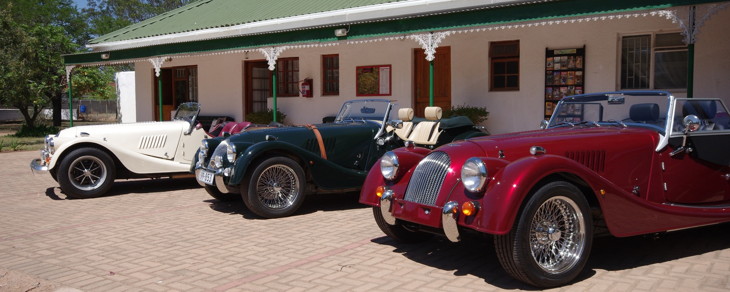 Morgan Auto Club Visiting Fynbos Guesthouse Riversdale