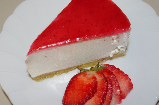 Strawberry Cheesecake from our Kitchen