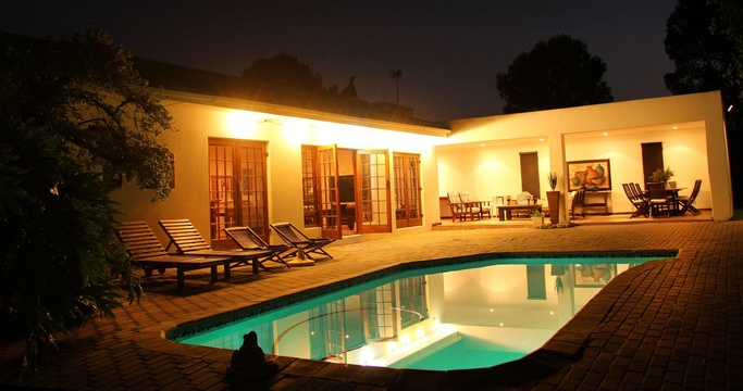 Swimming Pool, Fynbos Guest House