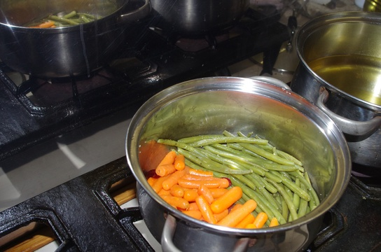 Lightly Steamed Vegetables