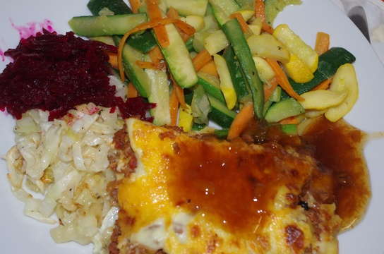 Lasagne with roasted veggies
