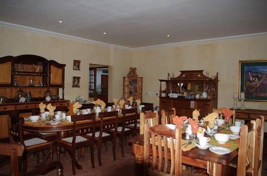 Dining Area, Fynbos Guest House